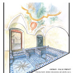 Ostrov-Palac-princu-Dianina_lazen-rekonstrukce